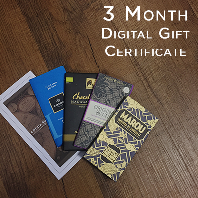Digital Gift Certificate: 3 Month Tasting Course Gift