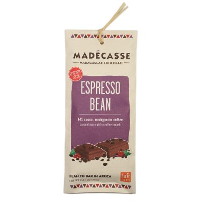 Madecasse Expresso Bean Chocolate Bar